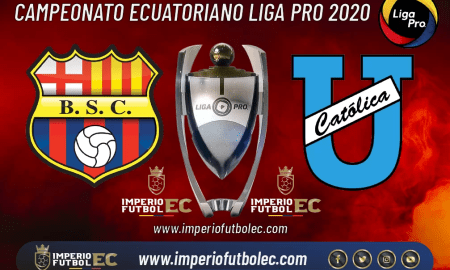 Barcelona SC vs Universidad Católica EN VIVO