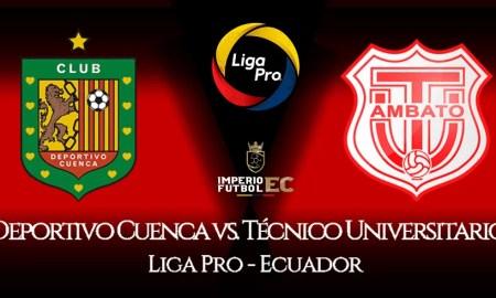 EN VIVO Deportivo Cuenca Técnico ver partido de futbol