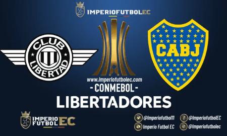 Libertad vs Boca Juniors EN VIVO-01