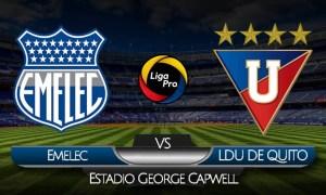 VER Emelec - Liga de Quito EN VIVO