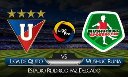 EN VIVO Liga de Quito vs Mushuc Runa por GolTV Ecuador