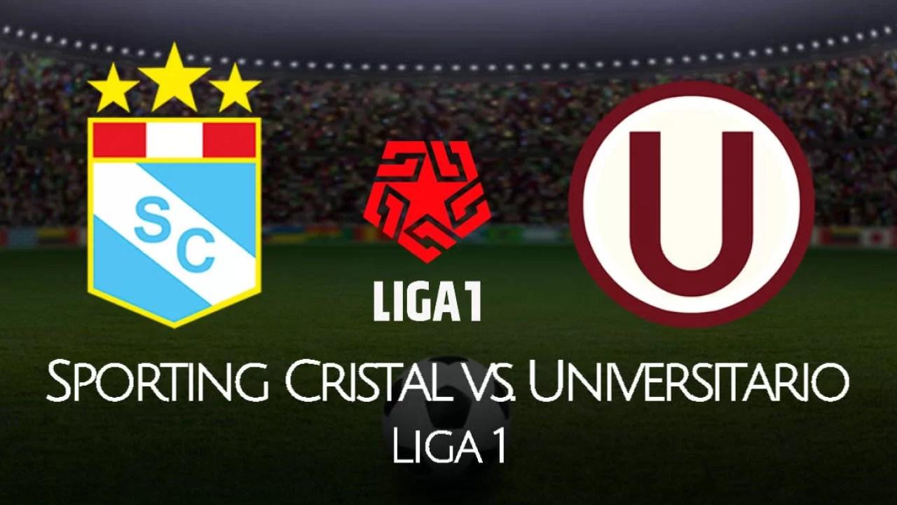 Sporting Cristal Vs Universitario En Vivo Golperu Por La Liga 1