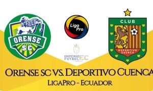 EN VIVO Orense SC vs Deportivo Cuenca GOLTV