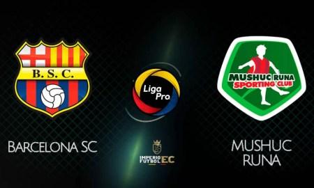 BARCELONA SC vs MUSHUC RUNA EN VIVO GOL TV LIGA PRO