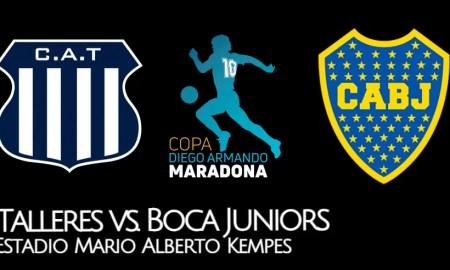 Boca Juniors vs Talleres EN VIVO TNT Sports por la Copa Diego Maradona