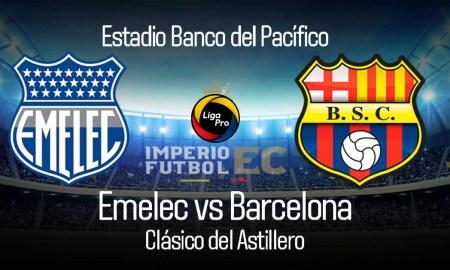 EMELEC vs BARCELONA EN VIVO GOL TV LIGA PRO CLÁSICO DEL ASTILLERO