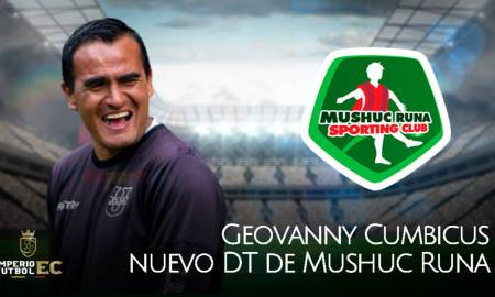 Geovanny Cumbicus vuelve y se convierte en nuevo DT de Mushuc Runa