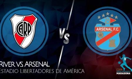 River vs Arsenal EN VIVO por FOX Sports Premium Copa Diego Maradona