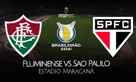 Ver partido Sao Paulo vs Fluminense EN VIVO, canales TV por Brasileirao
