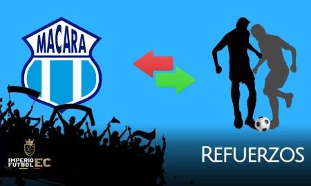 refuerzos - macara - futbol ecuador