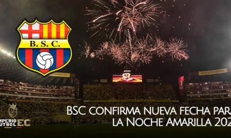 Barcelona SC confirma nueva fecha para la Noche Amarilla 2021