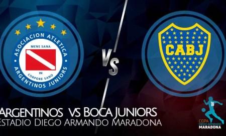 Boca vs Argentinos EN VIVO VER partido Copa Diego Maradona