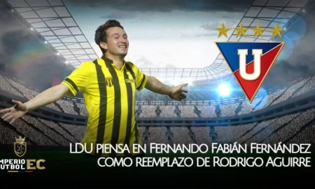 LDU piensa en Fernando Fabián Fernández como reemplazo de Aguirre