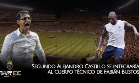 Segundo Alejandro Castillo integraría cuerpo técnico de Fabián Bustos para el Barcelona SC 2021