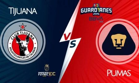 Tijuana - Pumas EN VIVO FOX Sports Torneo Clausura 2021 Liga MX