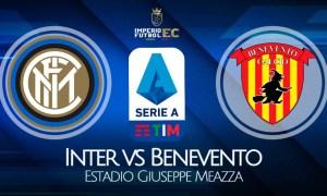 VER Inter vs Benevento EN VIVO por la fecha 20 de la Serie A
