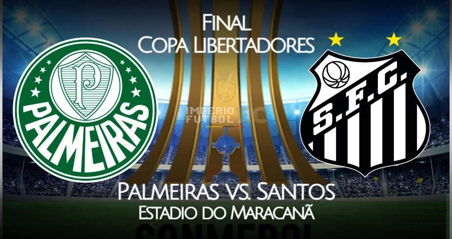 VER Palmeiras vs Santos EN VIVO Final Copa Libertadores