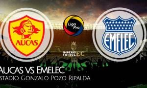 AUCAS vs EMELEC EN VIVO GOL TV FECHA 2 LIGA PRO