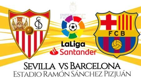 Barcelona vs Sevilla EN VIVO partido por LaLiga Santander