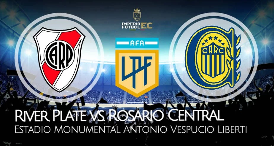 River Plate vs. Rosario Central EN VIVO por Copa Liga Profesional en TNT Sports