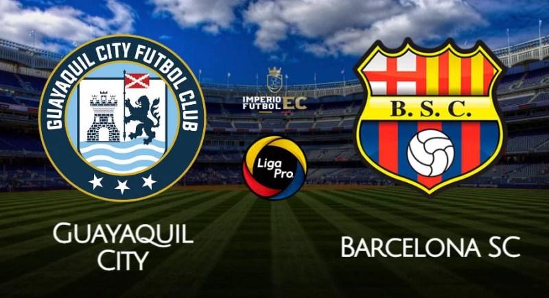 EN VIVO Barcelona SC - Guayaquil City por la fecha 3 de la LigaPro