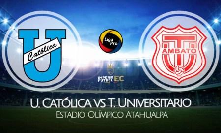 U. Católica - Técnico Universitario EN VIVO por la fecha 4 de la Liga Pro