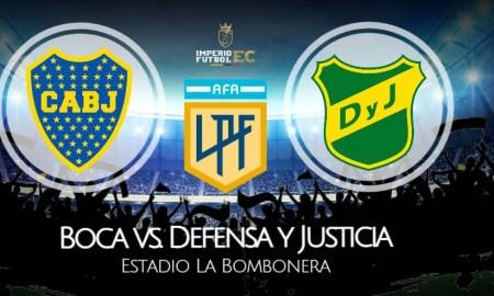 Boca - Defensa y Justicia EN VIVO ESPN y TNT por Copa de la Liga