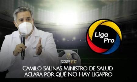 Camilo Salinas Ministro de Salud aclara por qué NO HAY LigaPro