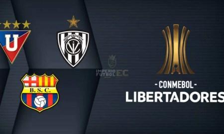 El fixture para LDU, BSC e IDV en la fase de grupos de la Copa Libertadores 2021