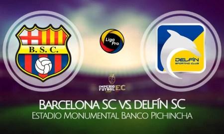 Barcelona SC vs Delfín VER EN VIVO por la Fecha 10 de la Liga Pro 2021