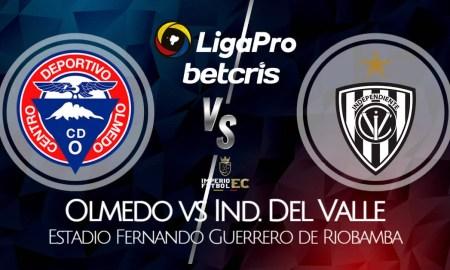 VER Olmedo vs IDV EN VIVO por la fecha 12 de la Liga Pro 2021