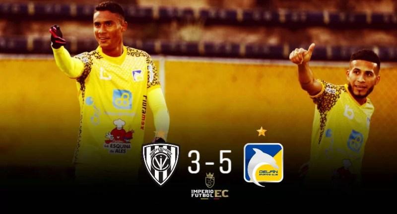 Delfín golea a IDV y se clasifica a la semifinal de la Supercopa Ecuador