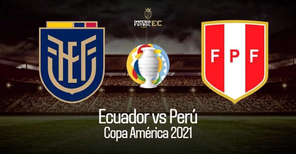 Partido de Ecuador vs Perú EN VIVO Direc TV juegan este miércoles a las 1600 horas de Lima y Quito por la fecha 4 de la Copa América 2021 válido al grupo B.