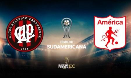 América de Cali vs Paranaense VER EN VIVO por DIRECTV por octavos de Copa Sudamericana