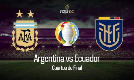 Argentina vs Ecuador Cuartos de Final Copa América
