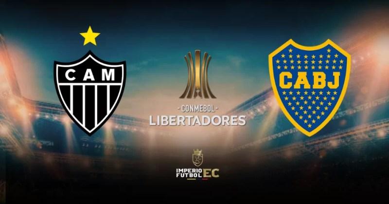 Boca vs Atlético Mineiro EN VIVO canales TV por Copa Libertadores