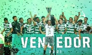 Gonzalo Plata y Sporting Lisboa Campeon
