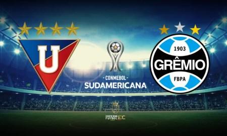 VER Liga de Quito vs. Gremio EN VIVO DIRECTV partido de ida de octavos de final por Copa Sudamericana