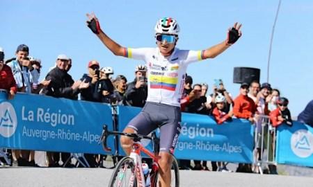 Alexander Cepeda se proclamó campeón del Tour de Savoie