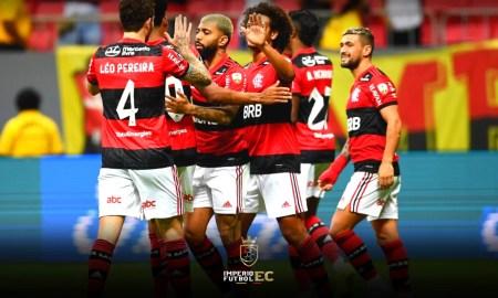 Flamengo contará con dos de sus estrellas para la revancha con Barcelona SC