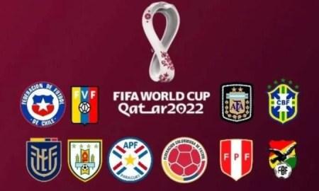 Tabla de posiciones de las Eliminatorias Sudamericanas