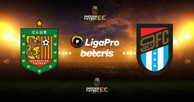 Deportivo Cuenca vs. 9 de Octubre EN VIVO por la Liga Pro 2021 fecha, hora y canal de TV para ver el partido