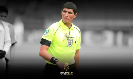 El árbitro Diego Lara recibió amenazas de muerte previo al duelo 9 de Octubre va Orense .