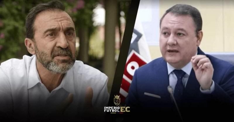 Nassib Neme responde a Juan Zapata presidente del COE Nacional
