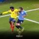 Nueva polémica con el VAR en el partido Uruguay vs Colombia