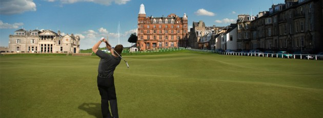 World Golf Tour   Cross Platform Golf That Will Keep You Coming Back     Taking a swing at the famous St Andrews Golf Club