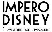 Impero Disney Logo Solo Scritta