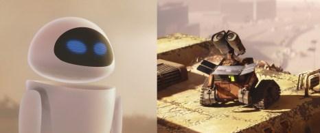 7) Molti sono anche i riferimenti alla Apple, probabilmente un omaggio della Pixar a Steve Jobs, fondamentale per l'evoluzione dello studio di Luxo. Tra questi l'aspetto della robottina Eve, che richiama molto il design dei prodotti Apple, e il suono dell'avvenuta ricarica di Wall-E, tratto dal suono d'accensione del Mac.