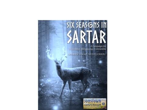 Six Seasons in Sartar Cover