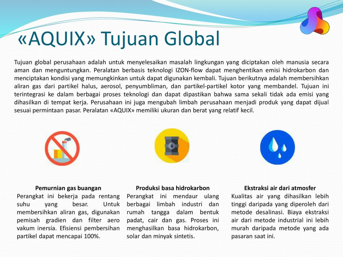 AQUIX Tujuan Global